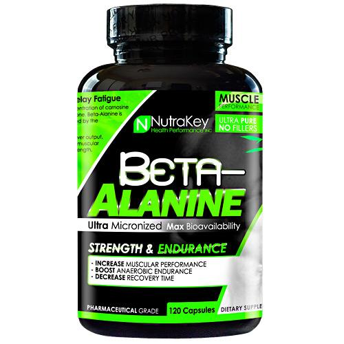 BETA ALANINE 120 caps by Nutrakey