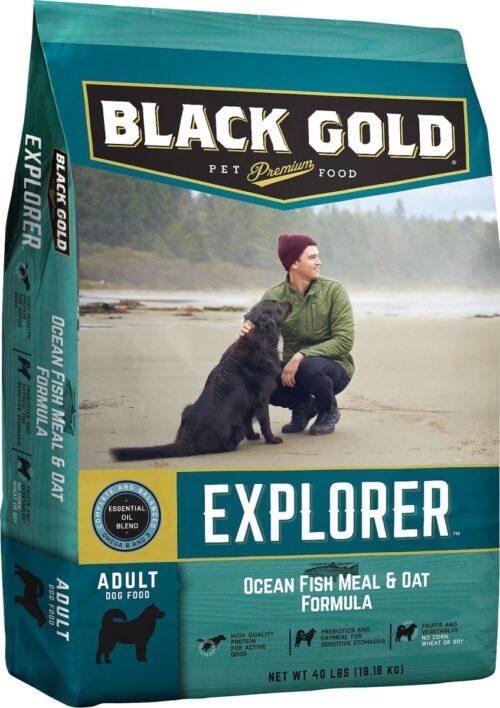 BG26199 Explorer Ocean Fish Meal & Oat Formula Dry Dog Food - 40 lbs