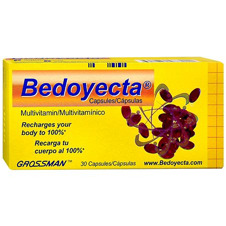 Bedoyecta Multivitamin Capsules - 30.0 Each