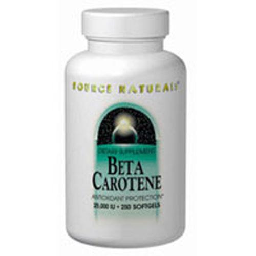 Beta Carotene 250 Softgel by Source Naturals
