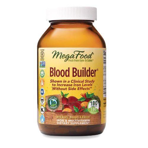 Blood Builder 180 Tabs by MegaFood