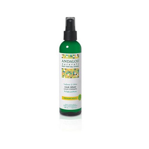 Brilliant Shine Hair Spray Sunflower and Citrus 8.2 oz by Andalou Naturals