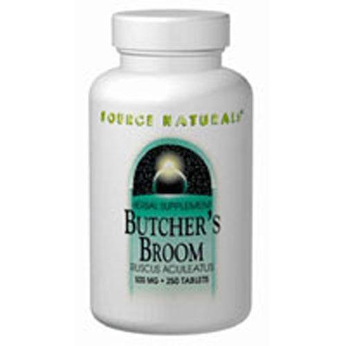Butcher's Broom 250 Tabs by Source Naturals