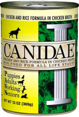CD01124 Canidae Chicken-Rice In Chicken Broth 12 Count