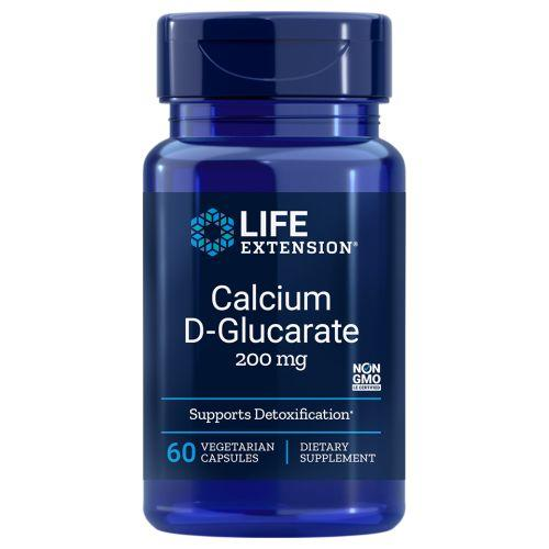 Calcium D-Glucarate 60 Vcaps by Life Extension