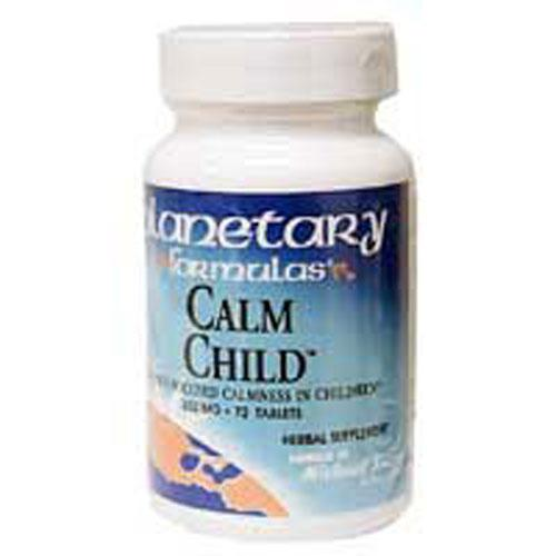 Calm Child 72 Tabs by Planetary Herbals