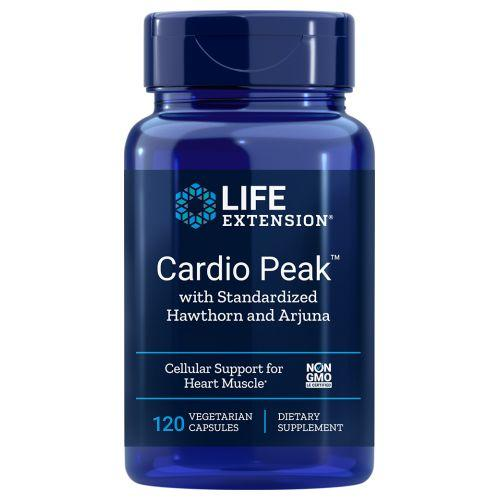 Cardio Peak with Standardized Hawthorn and Arjuna 120 vcaps by Life Extension