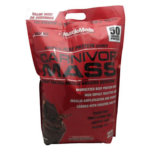 Carnivor Mass Chocolate 10 lbs by Muscle Meds