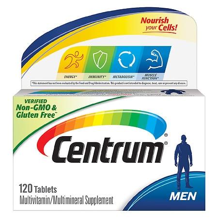Centrum Men, Complete Multivitamin & Multi-mineral Supplement Tablet - 120.0 ea