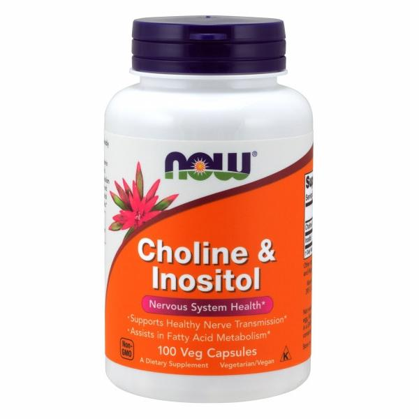 Choline & Inositol 100 Caps by Now Foods