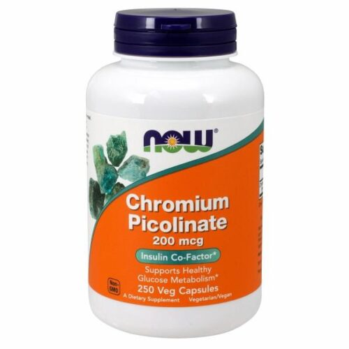 Chromium Picolinate 250 Caps by Now Foods