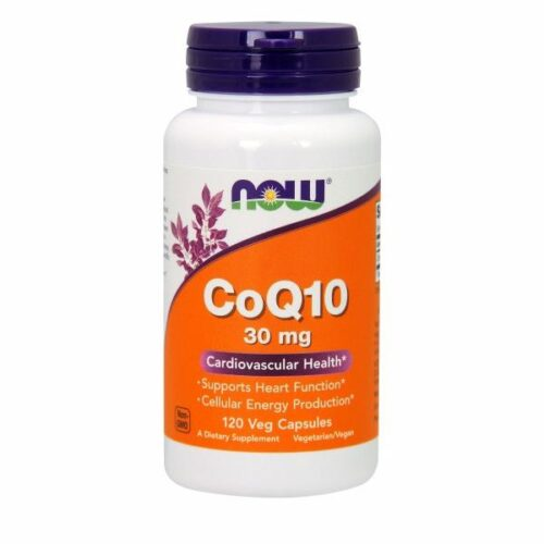 CoQ10 120 Vcaps by Now Foods
