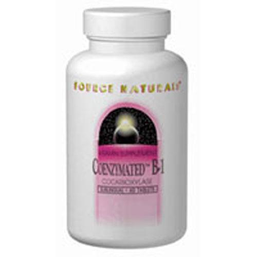 Coenzymated B-1 Sublingual 60 Tabs by Source Naturals