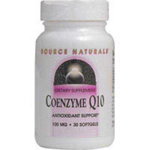 Coenzyme Q10 120 SG by Source Naturals