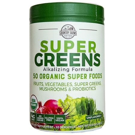 Country Farms Super Greens Natural Natural - 10.6 oz