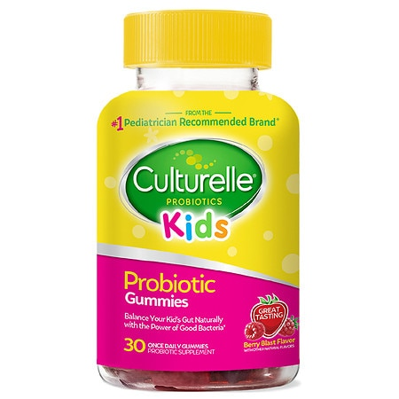 Culturelle Kids Probiotic Gummy Berry Blast - 30.0 ea