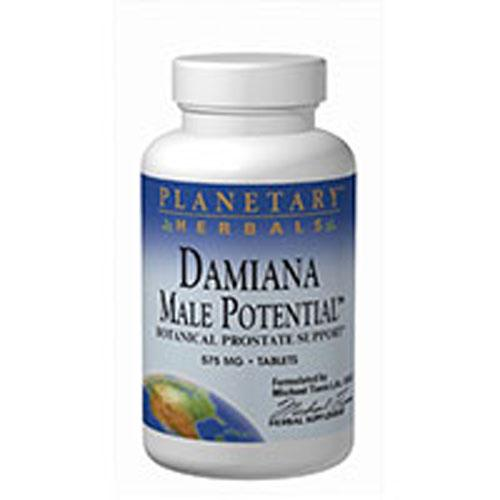 Damiana Male Potential 180 Tabs by Planetary Herbals