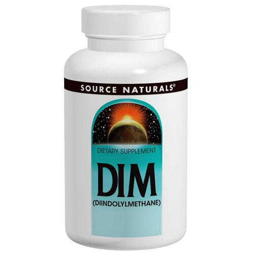Dim (Diindolylmethane) 120 Tabs by Source Naturals