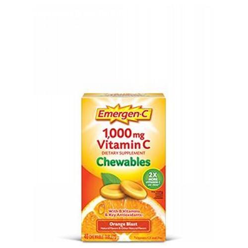 Emer'gen-C Immune Chewables Orange 14 Tabs by Alacer