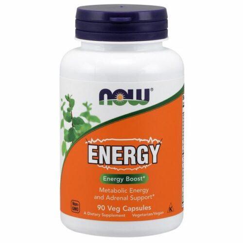 Energy 90 Veg Caps by Now Foods