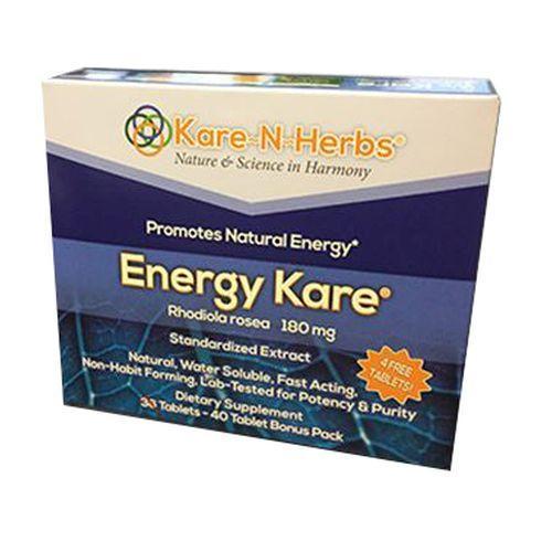Energy Kare Tabs 40 by Kare-n-Herbs