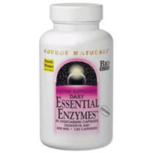 Essential Enzymes 120 Caps by Source Naturals