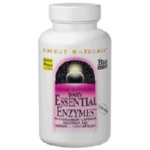 Essential Enzymes Vegetarian 60 VCaps by Source Naturals