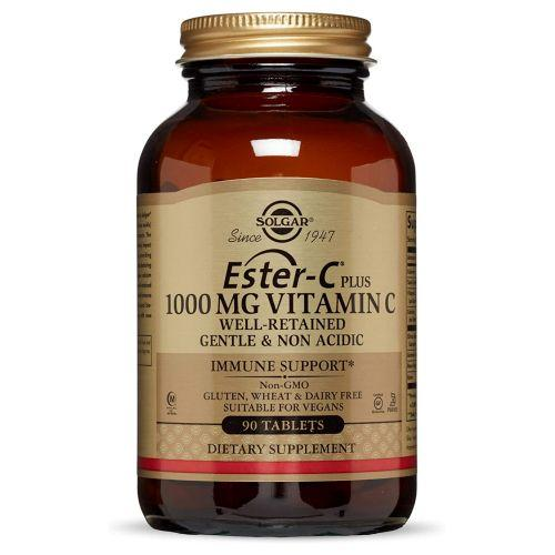 Ester-C + Vitamin C (Ester-C Ascorbate Complex) 90 Tabs by Solgar