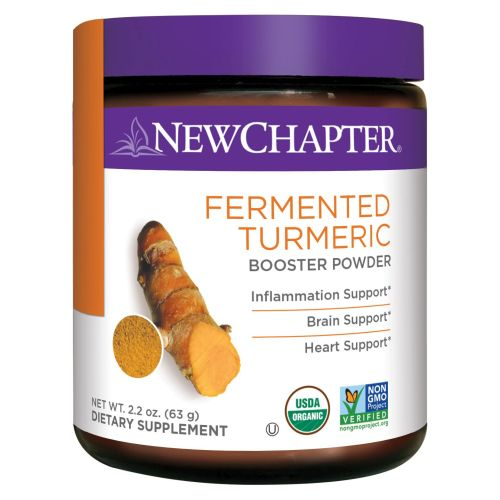 Fermented Turmeric Booster Powder 63 Grams by New Chapter