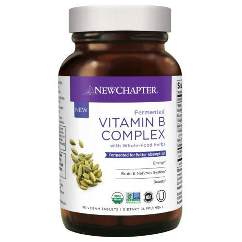 Fermented Vitamin B Complex 30 Count by New Chapter