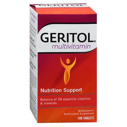 Geritol Multivitamin 100 Tabs by Geritol