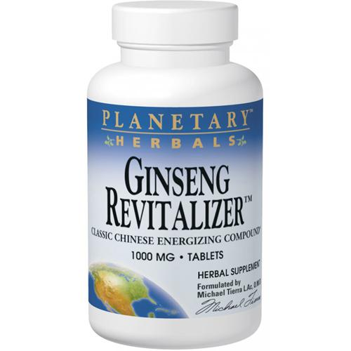 Ginseng Revitalizer 90 Tabs by Planetary Herbals