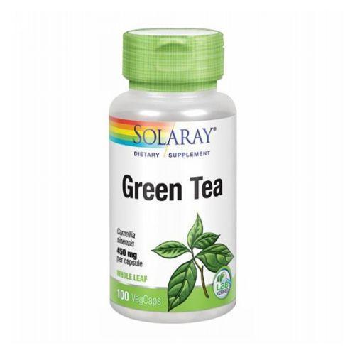 Green Tea 100 Caps by Solaray