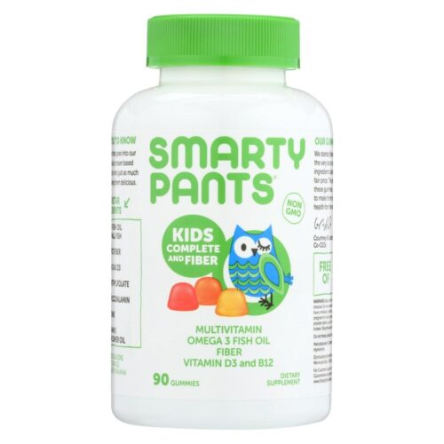 HG1718196 Kid Plus Fiber Gummy Multi Vitamin Dietray Supplement - 90 Count