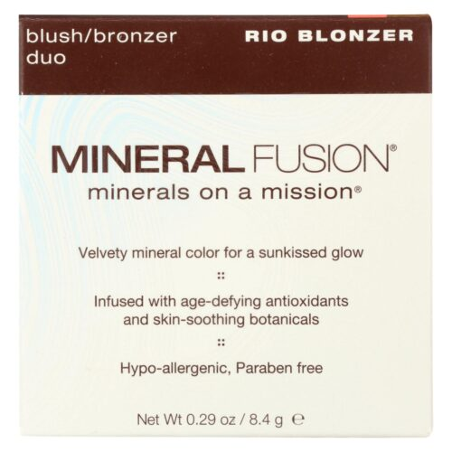 HG2221232 0.29 oz On A Mission Rio Blonzer Blush & Bronzer Duo