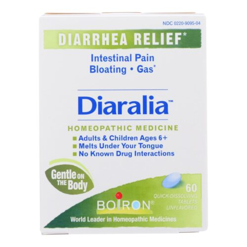 HG2475366 Diaralia Relief Homeopathic Medicine - 60 Tablets