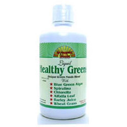 Healthy Greens Liquid 32 Oz by Dynamic Health Laboratories