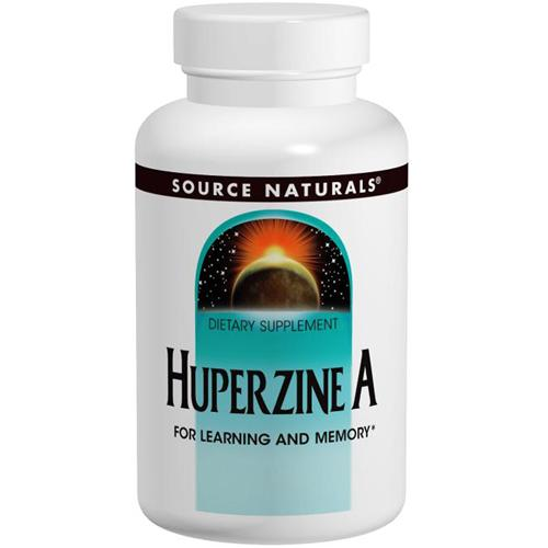 Huperzine A 60 tabs by Source Naturals
