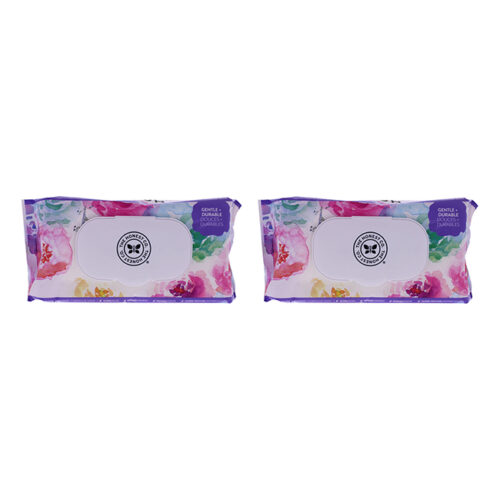 K0003279 Baby Wipes for Kids, Rose Blossom - 72 Count, Pack of 2