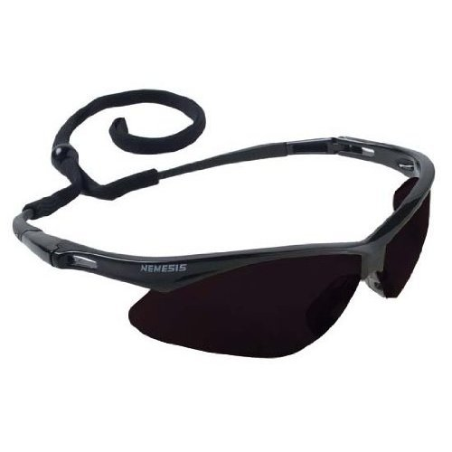 Kimberly Clark Consumer 22475 Safety Glasses, Polycarbonate Anti - Fog Lenses with Black Frame