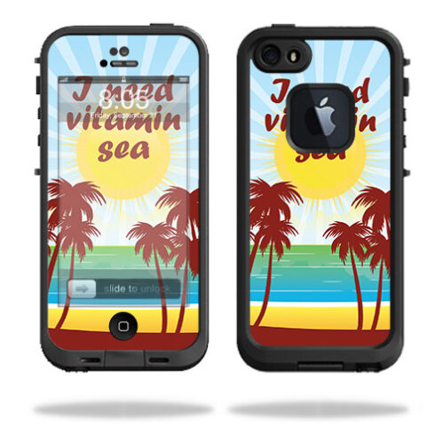 LIFIP5S-Vitamin Sea Skin for Lifeproof iPhone 5 & 5S Fre Case - Vitamin Sea