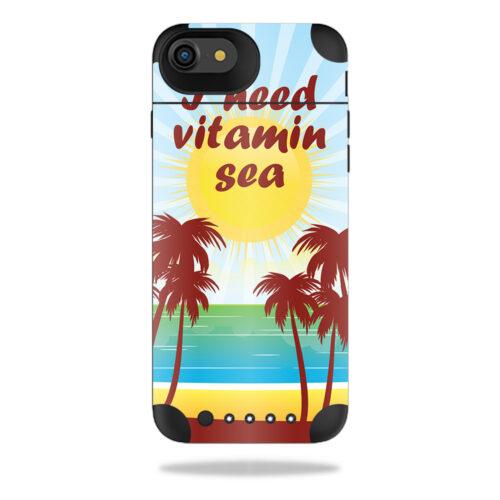 MJAIRIP7-Vitamin Sea Skin for Mophie Juice Pack Air iPhone SE 2020 7 & 8 - Vitamin Sea