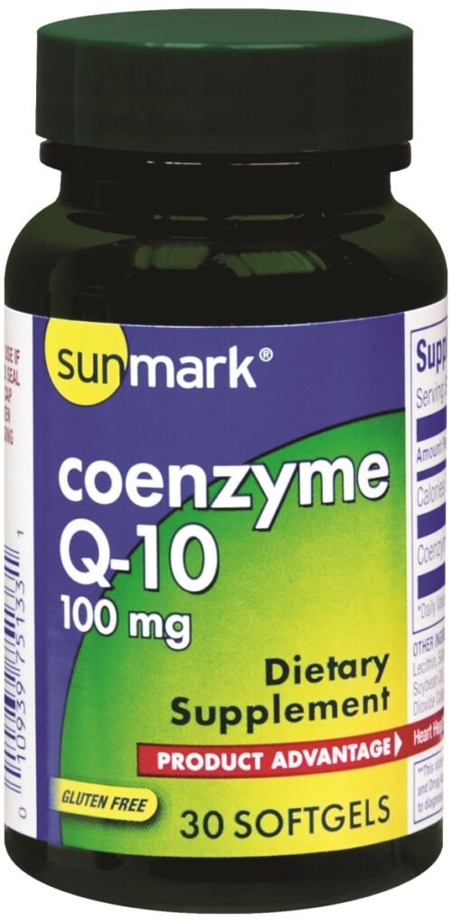 McKesson 39162700 100 mg Sunmark Coenzyme Q-10 Supplement - Pack of 30