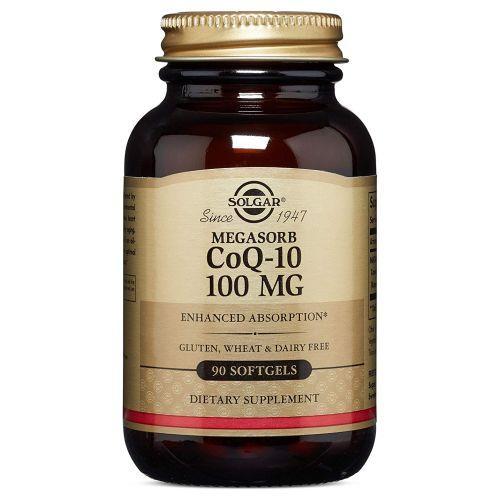 Megasorb CoQ-10 90 S Gels by Solgar