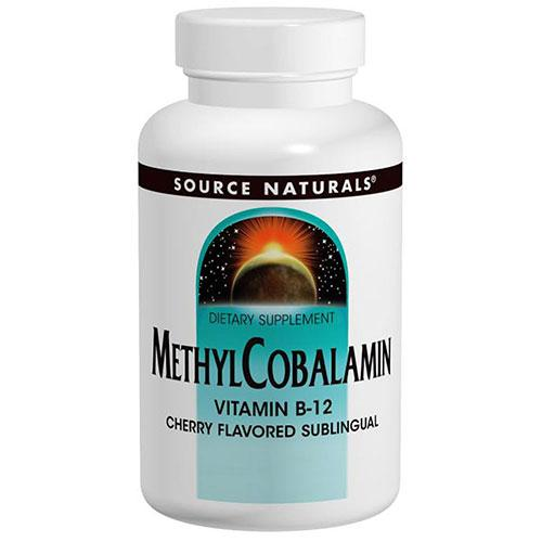 MethylCobalamin Cherry 240 Tabs by Source Naturals