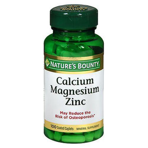 Nature's Bounty Calcium Magnesium Zinc Caplets 100 Caplets by Nature's Bounty