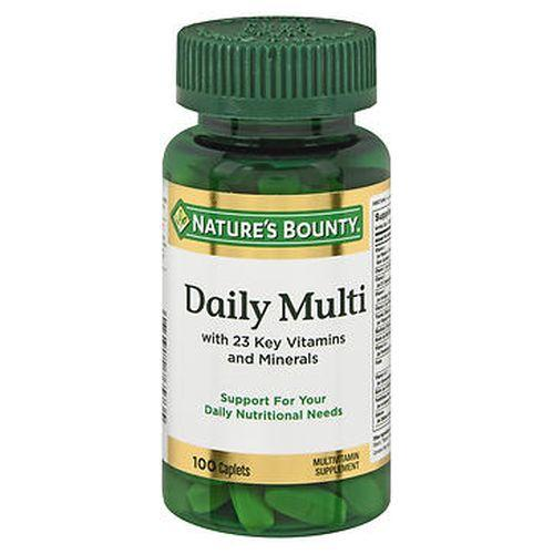 Natures Bounty Daily Multi Caplets 100 Tabs by Natures Bounty