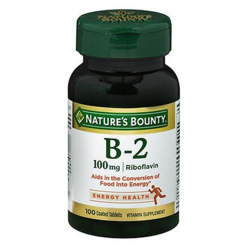 Nature's Bounty Vitamin B-2 100 tabs by Nature's Bounty