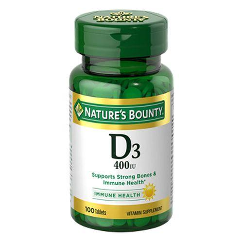 Natures Bounty Vitamin D 24 X 100 Tabs by Nature's Bounty