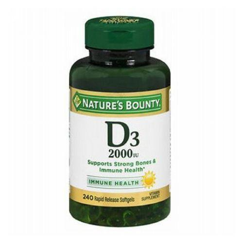 Nature's Bounty Vitamin D3 240 Softgels by Nature's Bounty